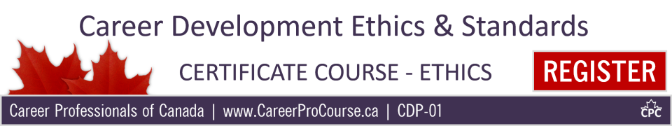 Career Development Ethics and Standards Course