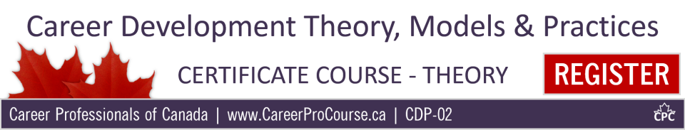 theoretical models in careers guidance practice Below is an article i wrote for the journal of the national institute for careers education and counselling in it i try to bring together a whole range of narrative approaches to the task of reviewing your practice as a career practitioner some of the theories and models here are ones i have already blogged about, but i in this.