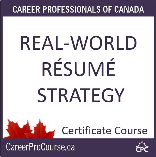 RES Real-World Résumé Strategy